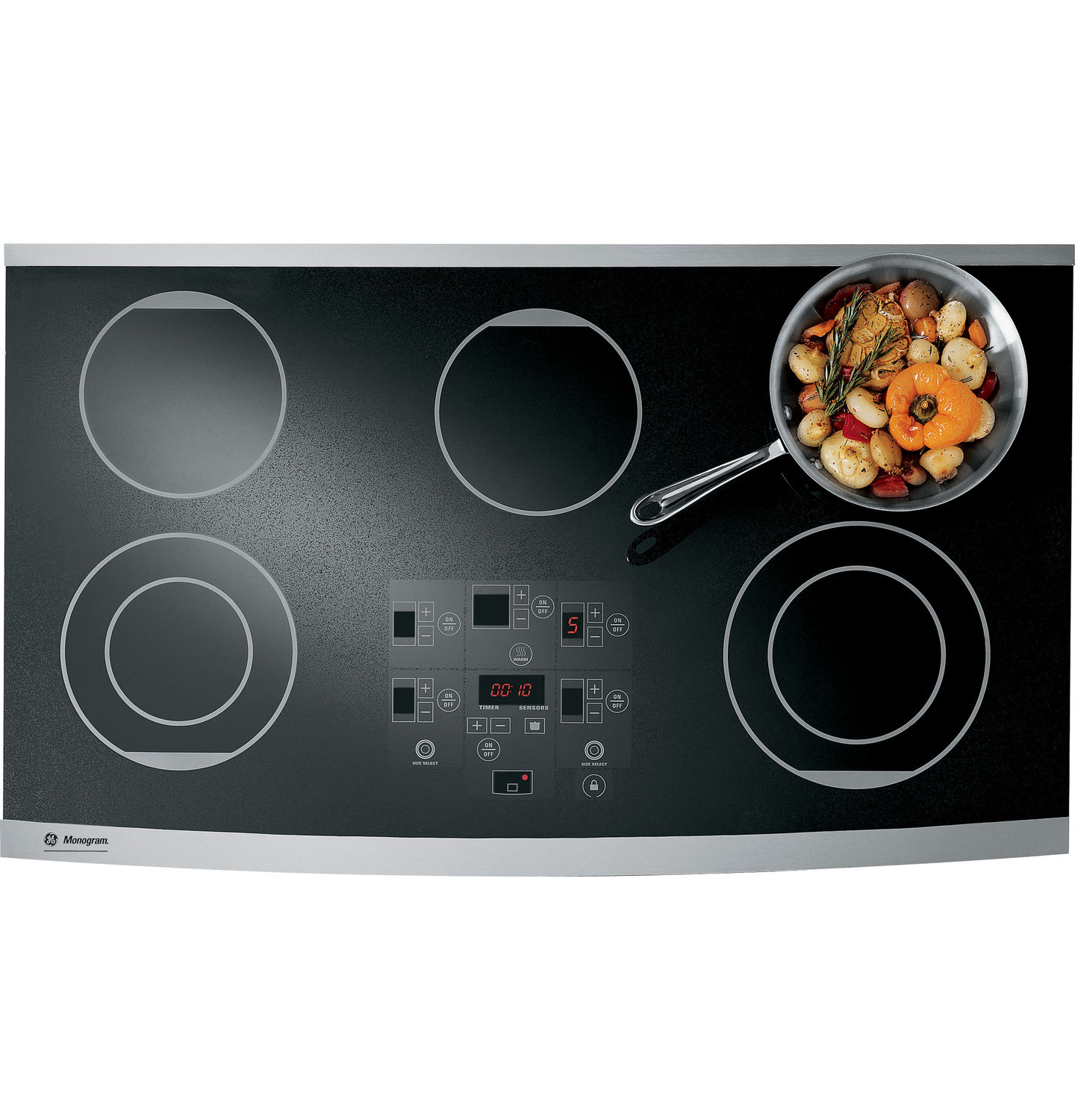 electric cooktop radiant zeu36rsfss