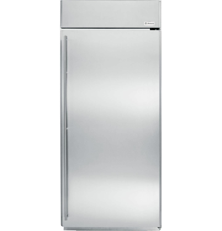 upright refrigerator / stainless steel / energy-efficient / built-in -  ZIRS360NXRH