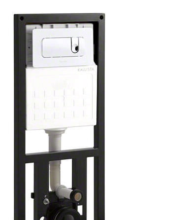 Wall-mounted toilet installation unit / with toilet tank - PLEO ...