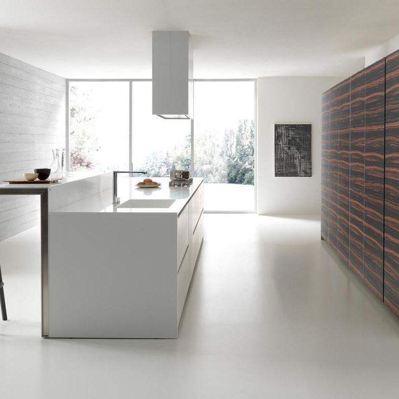 Contemporary Kitchen / Wooden / Island / Lacquered   TWENTY