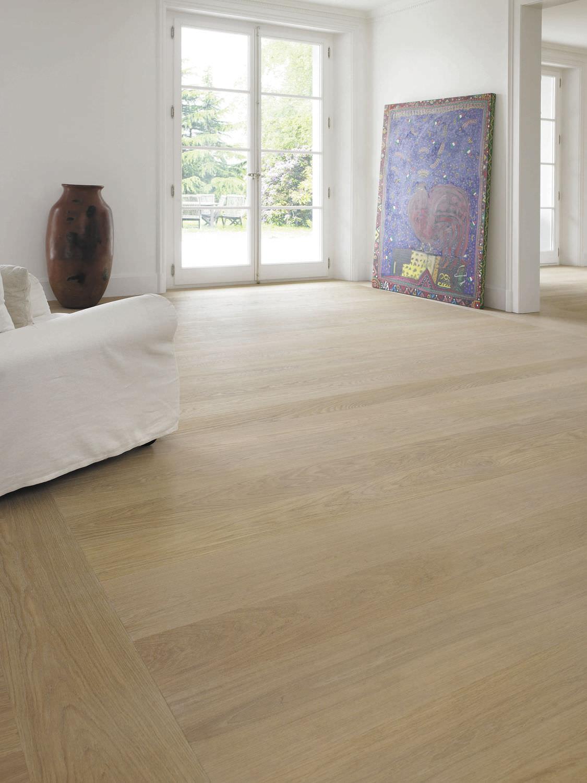 white oak wide plank flooring