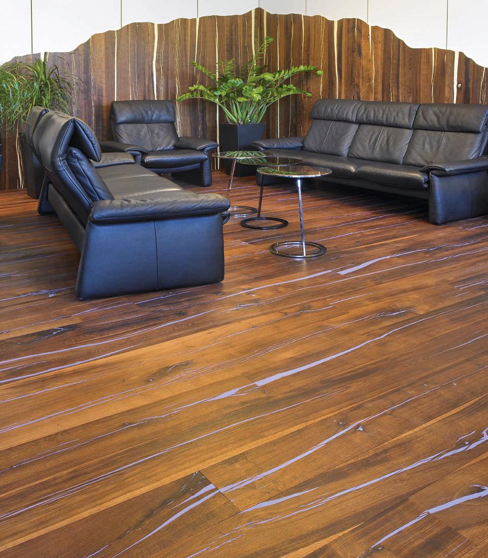 Mafi Parkett engineered parquet floor glued floating oak tiger oak cc