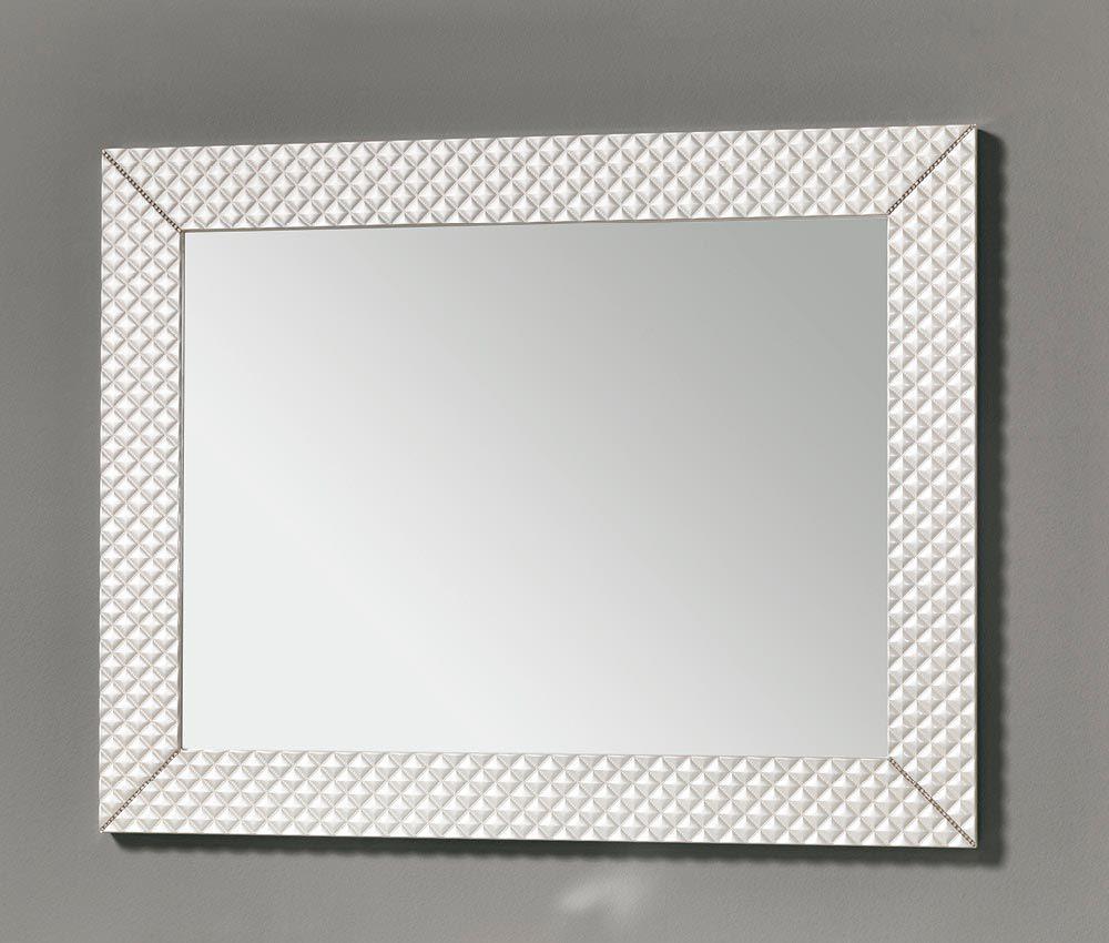 Wall Mounted Bathroom Mirror Contemporary Rectangular Swan Eban