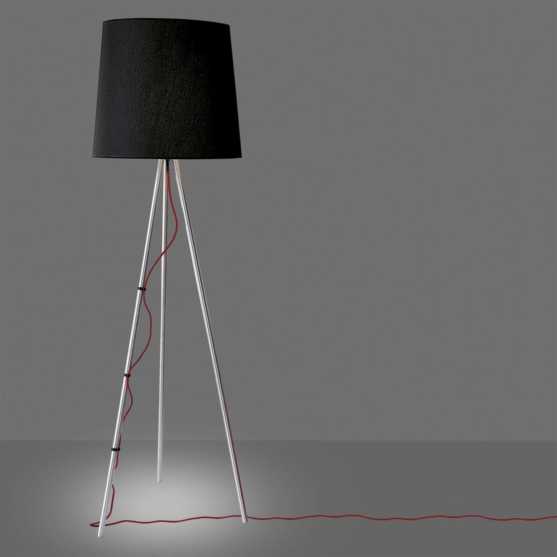 Floor Standing Lamp / Original Design / Aluminum / Tripod