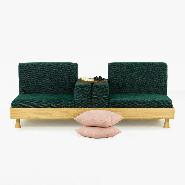Sofa bed / contemporary / fabric / wooden - MEDA - BERTO SALOTTI