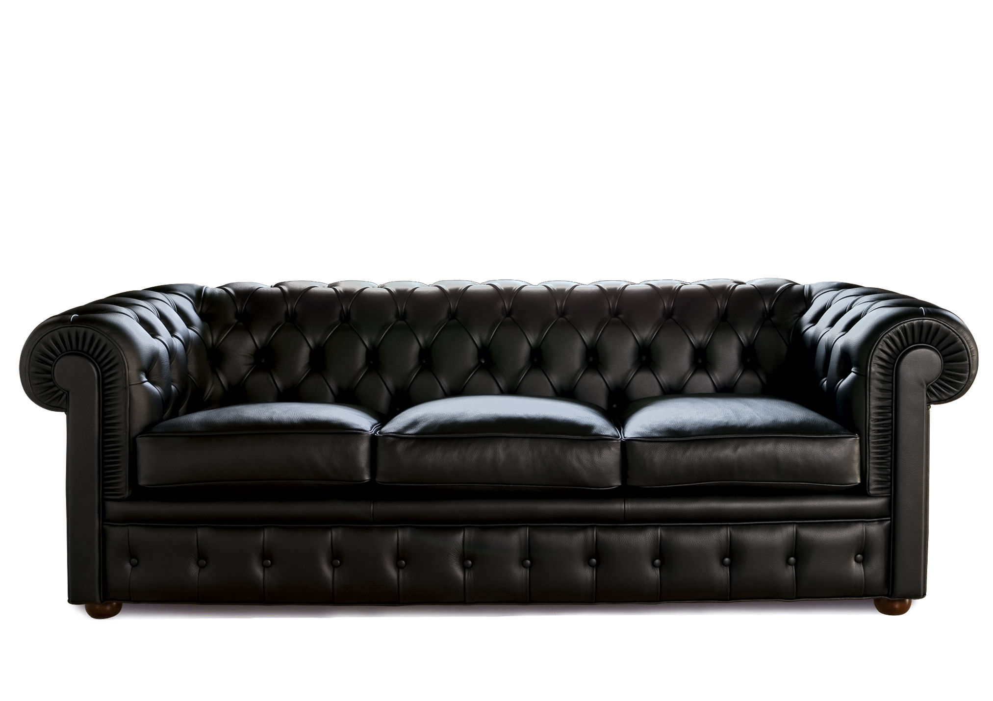 Sofa Bed Chesterfield Fabric Leather Chester