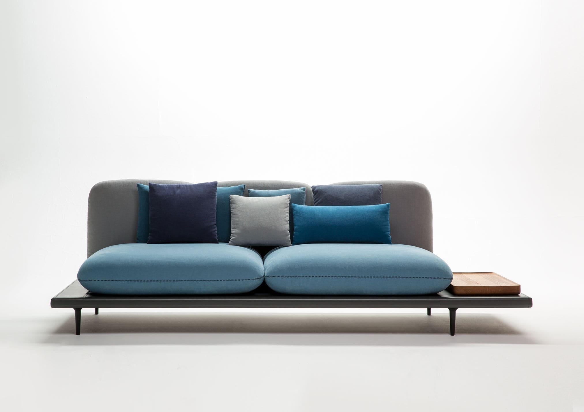 ... Original design sofa / leather / fabric / 3-seater SOFA4MANHATTAN by  Lera Moiseeva and ...