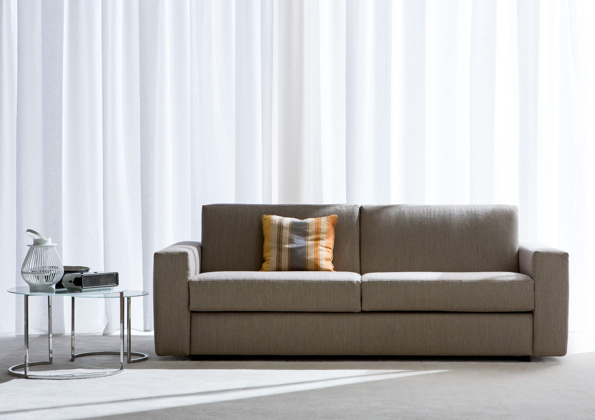 Sofa Bed Contemporary Fabric Leather SAN DIEGO CITY - Sofa bed san diego