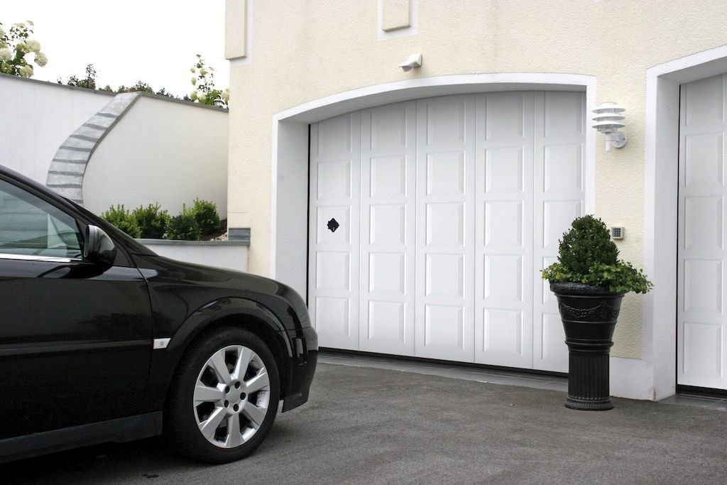 Sliding Sectional Garage Door Aluminum Automatic Phenix