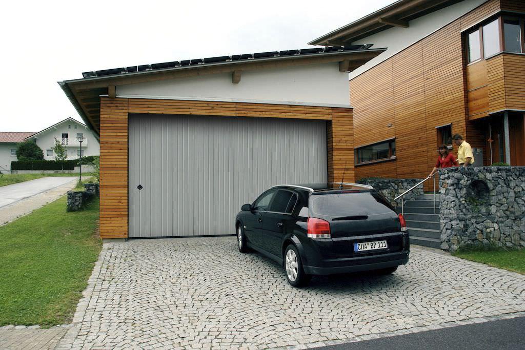 Sliding Sectional Garage Door Aluminum Automatic Phenix
