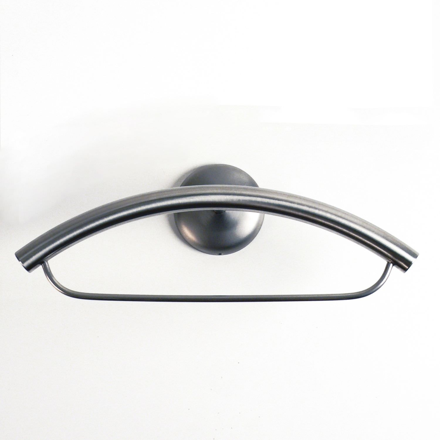 Wall Mounted Valet Stand Contemporary Metal Eye 1b