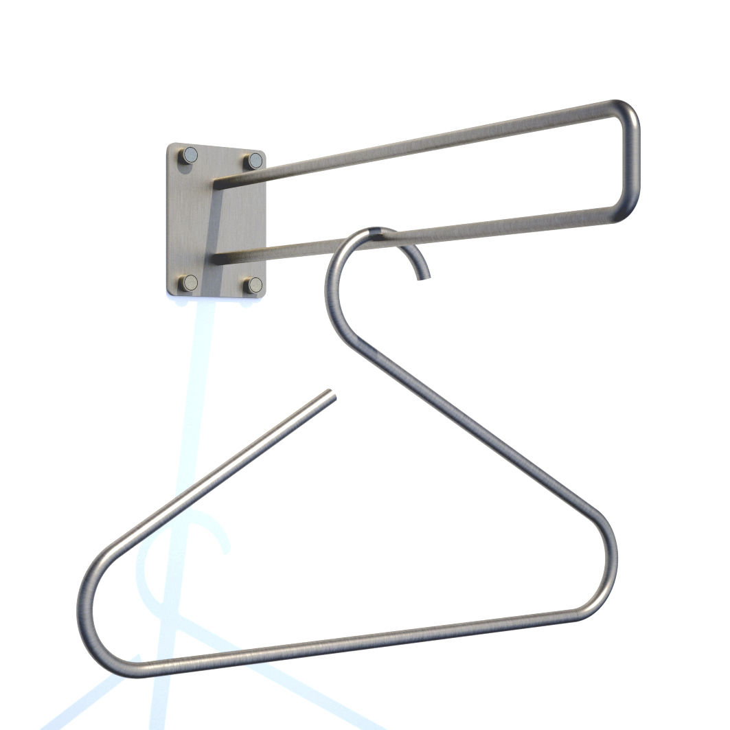 Wall mounted clothes hanger - Ideas Metal Coat Racks Wall Mounted Mount Rack  - Wall Mounted - Wall Mount Hanger Cymun Designs