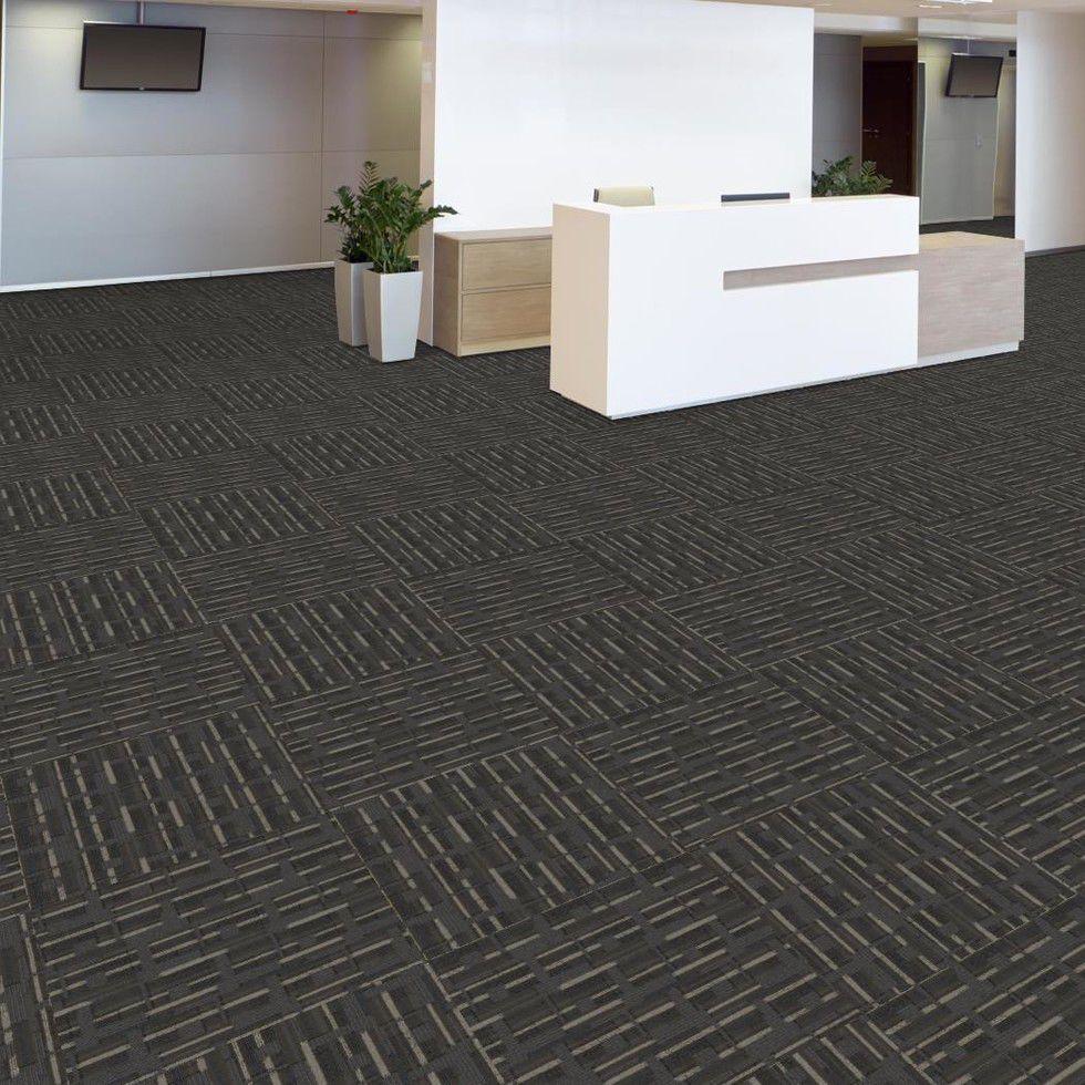Carpet Tile Tufted Nylon Tertiary Modern Block