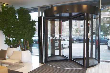 floor-mounted air curtain / commercial / for revolving doors - SFS E/W & Floor-mounted air curtain / commercial / for revolving doors - SFS E ...