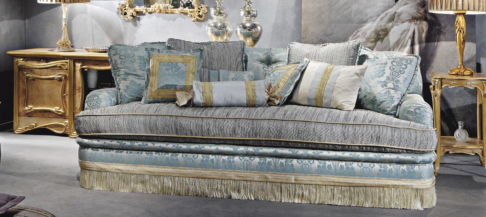 Traditional Sofa / Silk / 3 Seater / Multi Color ...