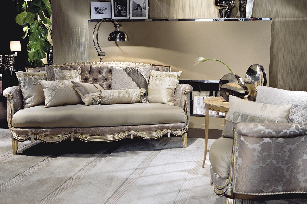 ... Classic Sofa / Silk / 3 Seater / Multi Color ...