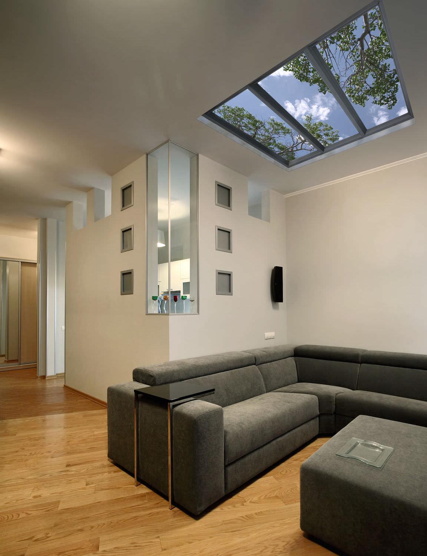 Virtual window led panel skyv sky factory