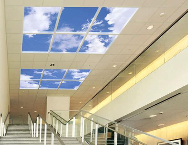Sky ceiling LED panel / for backlit ceilings - REVELATION - Sky Ceiling LED Panel / For Backlit Ceilings - REVELATION - Sky