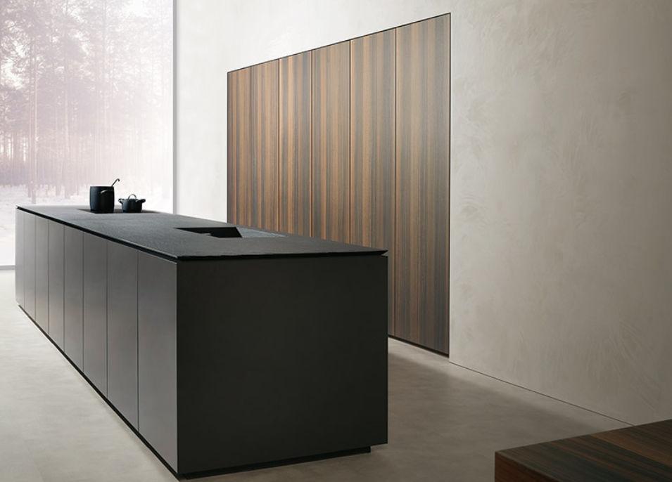 contemporary kitchen / wooden / island / matte - alias - mk cucine - Cucine Mk
