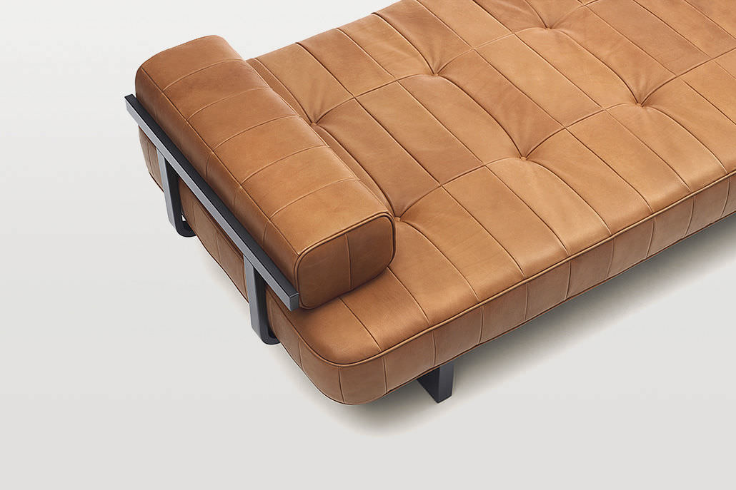 Living Room Ds   Contemporary Day Bed Leather Living Room Ds 80 De Sede Ag