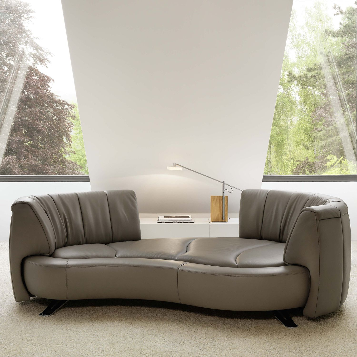 Modular Sofa / Semicircular / Contemporary / Leather   DS 164 By Hugo De  Ruiter Pictures