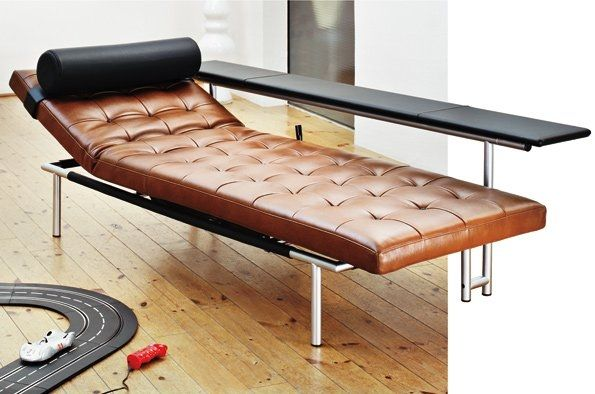 daybed leather indoor campus de luxe by assmann u0026 kleene - Leather Daybed