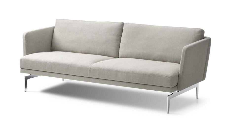 ... Compact Sofa / Contemporary / Leather / Fabric