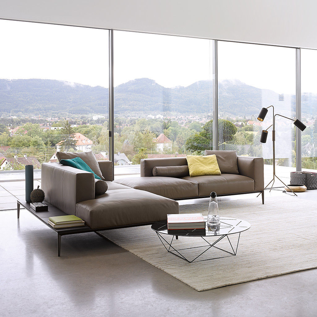 Modular sofa contemporary leather 4 seater jaan by eoos modular sofa contemporary leather 4 seater jaan by eoos walter knoll parisarafo Gallery