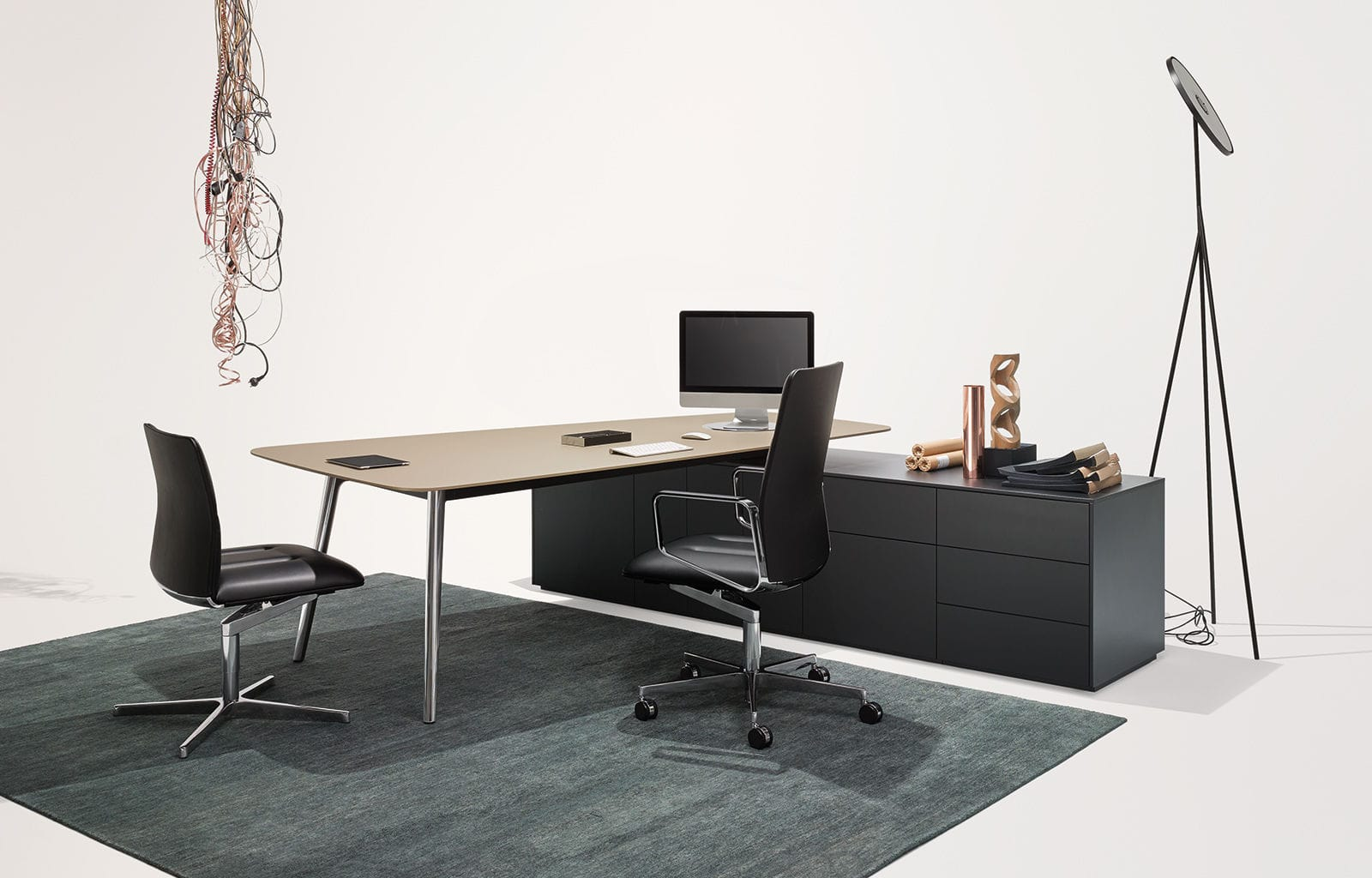 ... Executive Office Desk / Wooden / Contemporary / Commercial ...