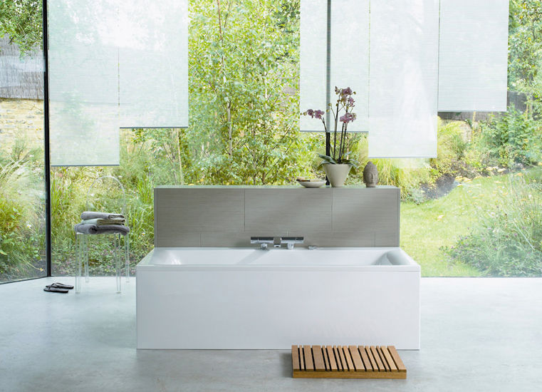 Free-standing bathtub / acrylic - CONNECT E0195 by Robin Levien ...