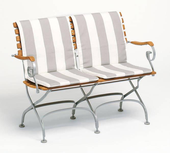 "Garden bench  traditional  teak  solid wood - CLASSIC - WEISHÃ""UPL"