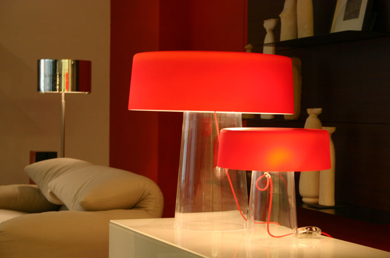 ... Table lamp / contemporary / blown glass / crystal GLAM PRANDINA ... - Table Lamp / Contemporary / Blown Glass / Crystal - GLAM