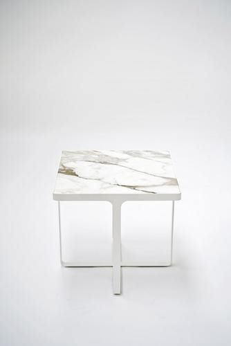 ... Contemporary Side Table / Metal / Round / Square CAGE By Gordon  Guillaumier Tacchini