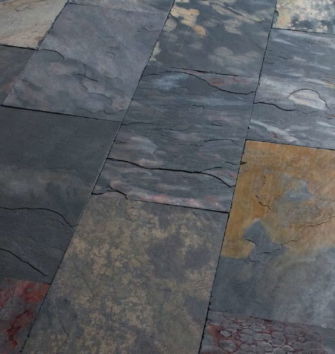 Indoor Tile Bathroom Floor Slate Floor African Sauvage
