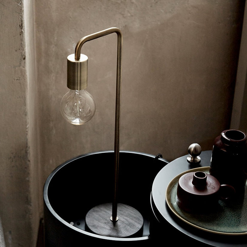 table l& / contemporary / metal / glass - COOL & Table lamp / contemporary / metal / glass - COOL - Frandsen Lighting