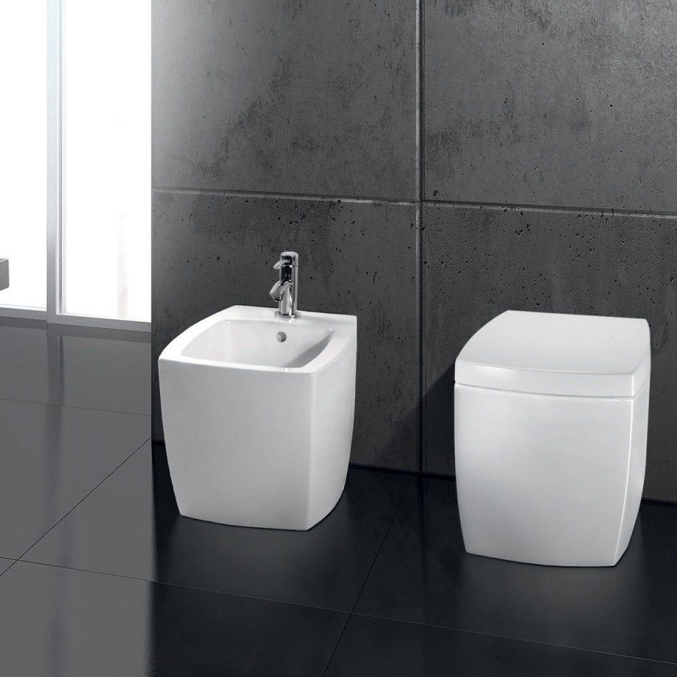 freestanding toilet  ceramic  square  a e t italia - freestanding toilet  ceramic square a e t italia