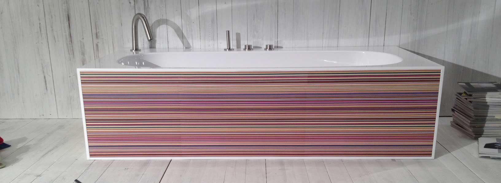 Freestanding bathtub / acrylic resin - COVER - A. e T. ITALIA