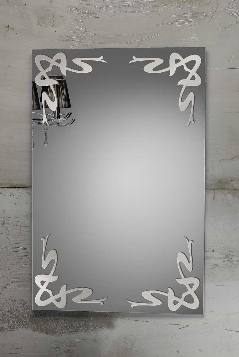 Wall-mounted bathroom mirror / illuminated / contemporary ...