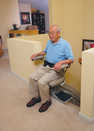 standing stair lift. Indoor Chair Stair Lift / Rotating Standing
