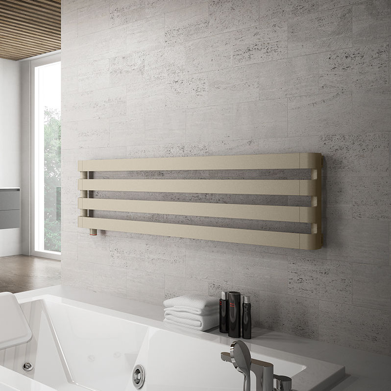 Hot Water Towel Radiator / Aluminum / Contemporary / Bathroom   STEP H By  Antonio Citterio