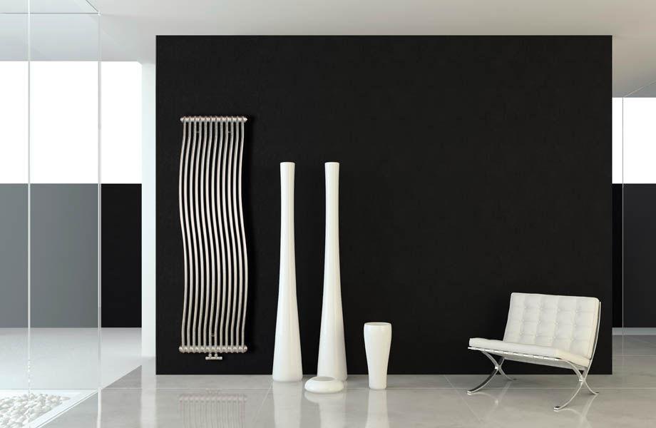 Hot water radiator / sheet steel / contemporary / tube - TESI ...