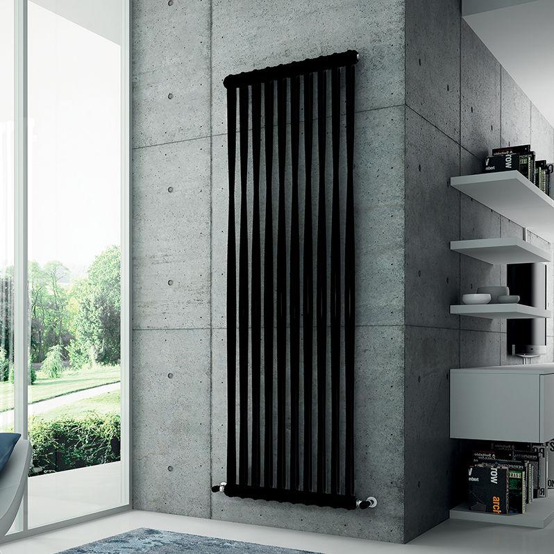 Hot water radiator / sheet steel / contemporary / tube - TESI MEMORY ...