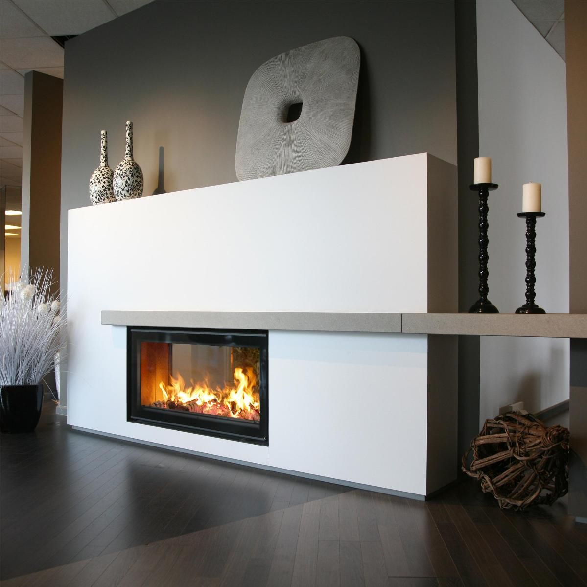 Discover all the information about the product Wood-burning fireplace insert / double-sided VENUS 850D GREEN PLUS - M-Design and find where you can buy it. Contact the manufacturer directly to receive a quote.