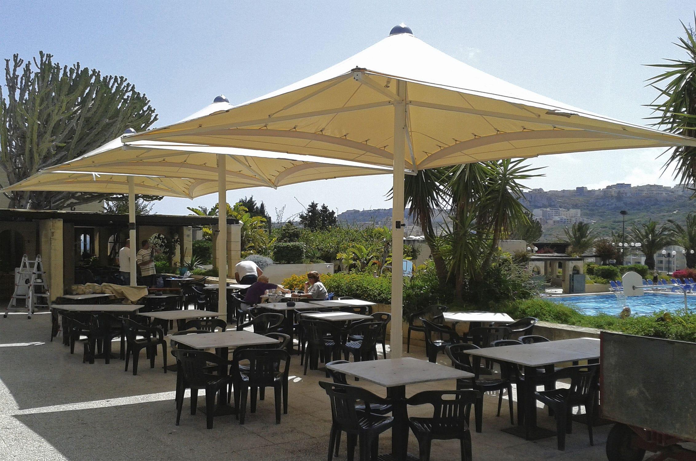 Bar Patio Umbrella For Hotels For Restaurants For Public Pools