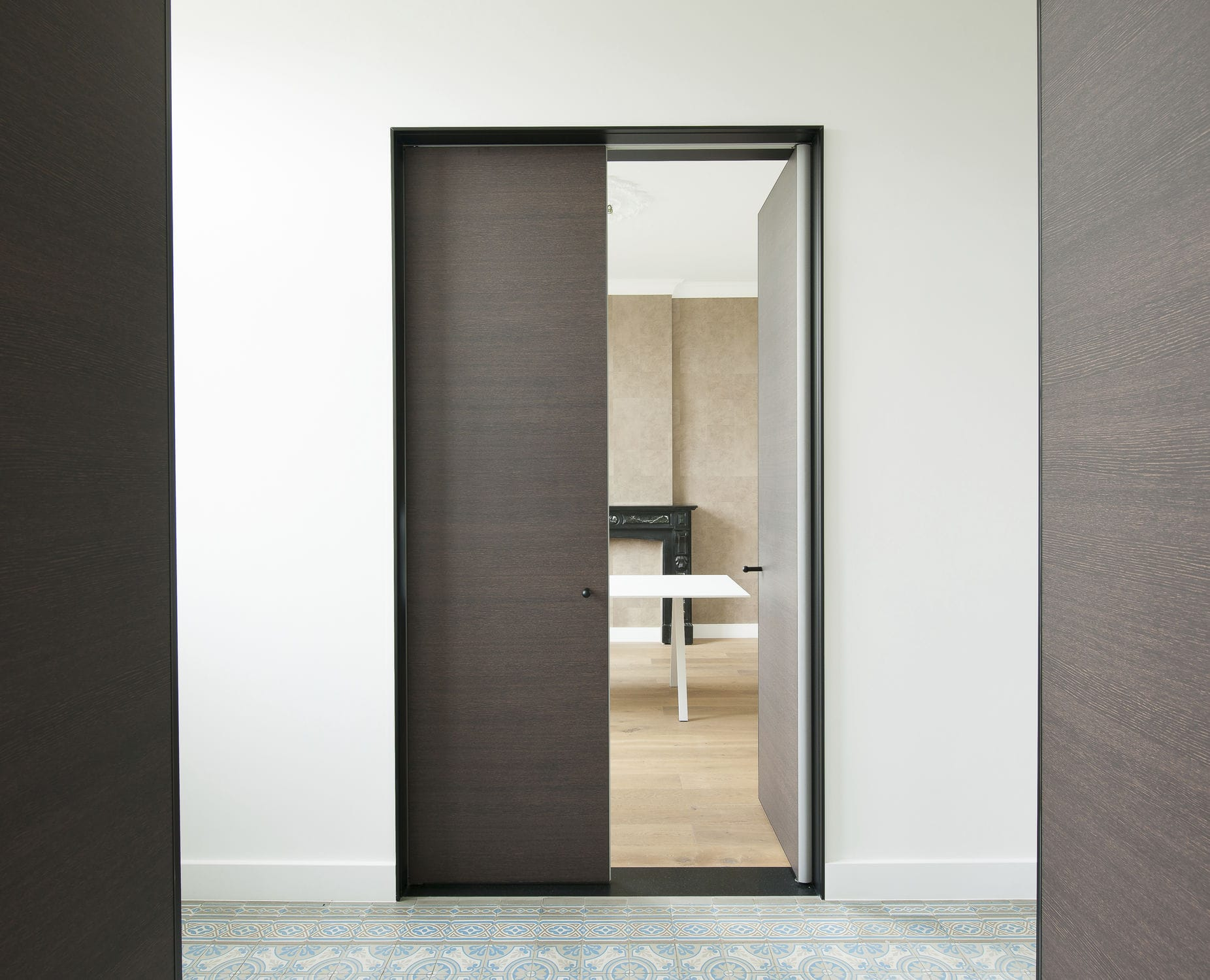 Anodized aluminum door frame - OBO-B - ANYWAY DOORS - Videos on