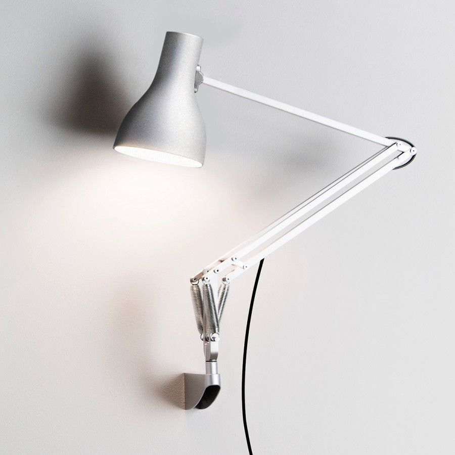 Contemporary wall light aluminum swing arm type 75 by sir contemporary wall light aluminum swing arm type 75 by sir kenneth grange mozeypictures