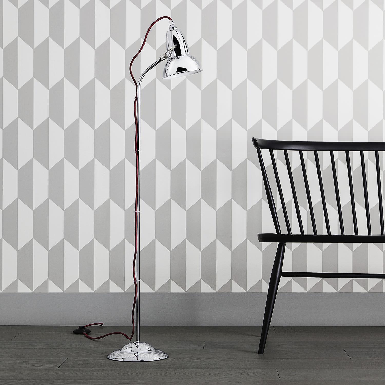 Floor-standing lamp / contemporary / cast iron / steel - ORIGINAL ...