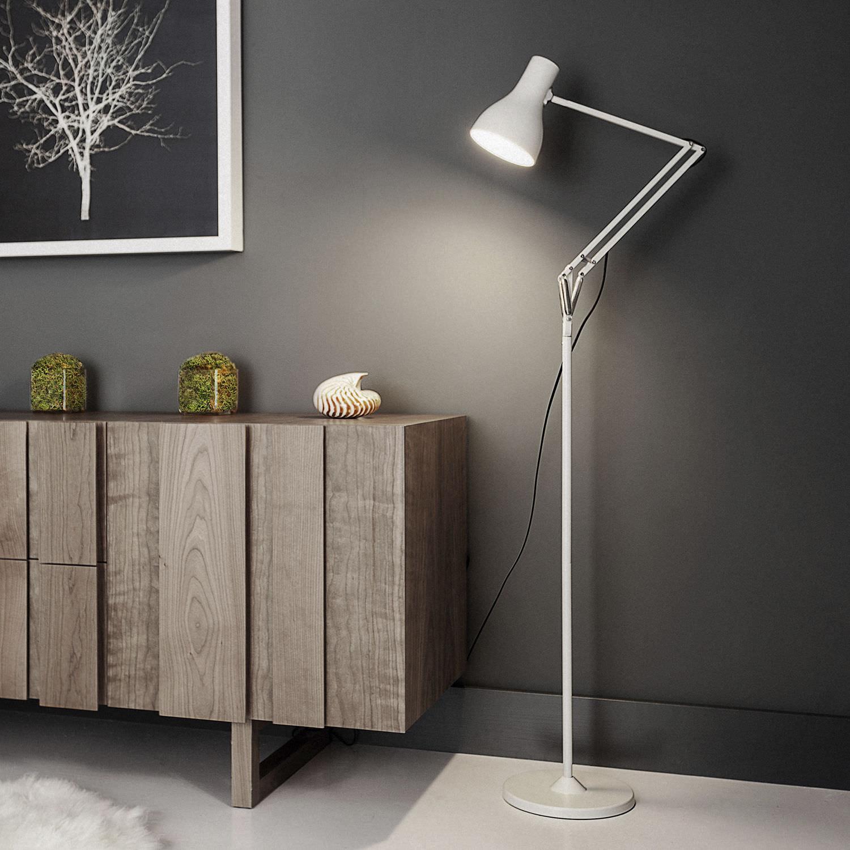Floor-standing lamp / contemporary / aluminum / cast iron - TYPE 75 ...