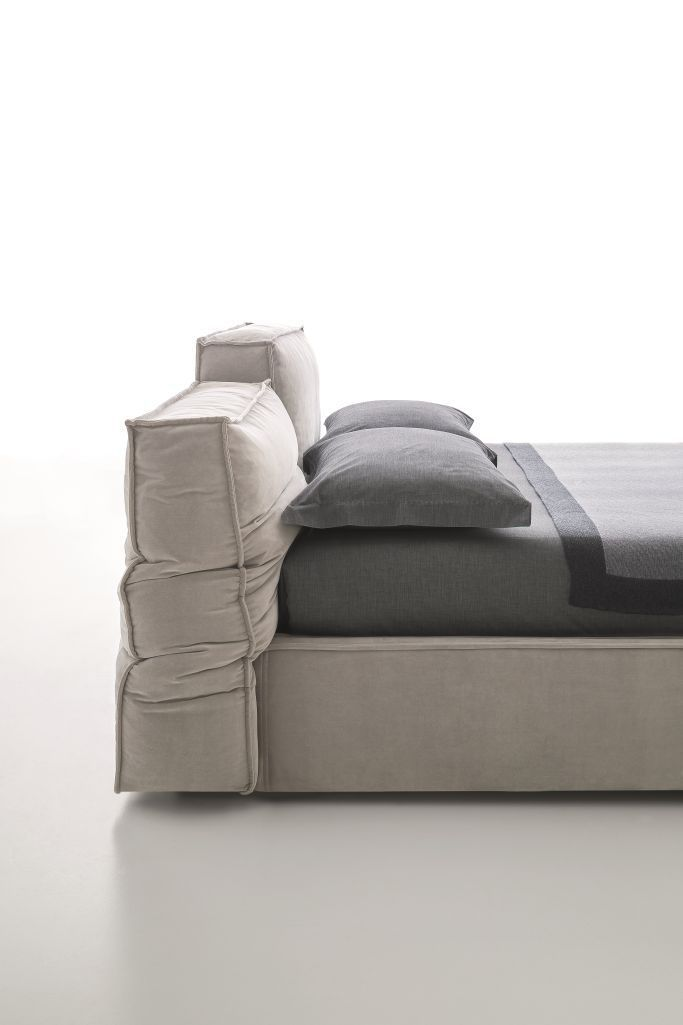 ... Double Bed / Contemporary / Upholstered / With Adjustable Headboard  MISTY By Spessotto U0026 Agnoletto Ditre ...