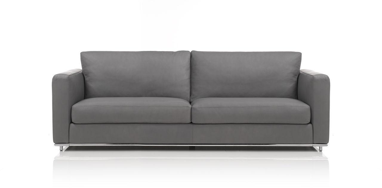 Modular Sofa Contemporary Leather 2 Person